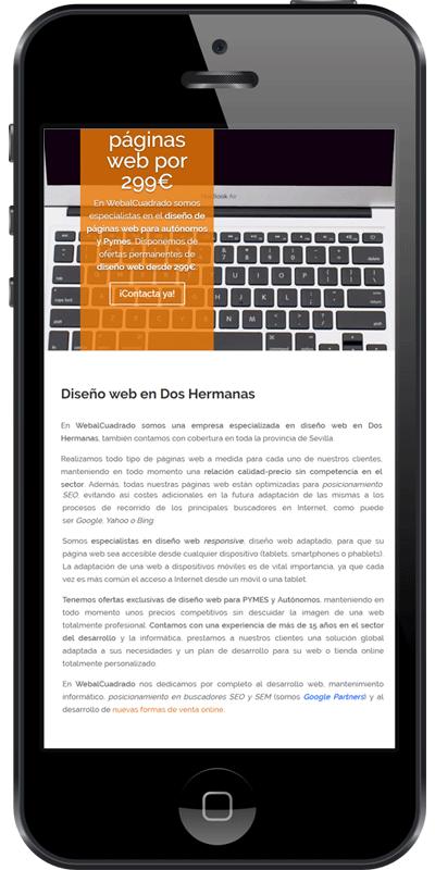 Empresa de diseño web en Sevilla